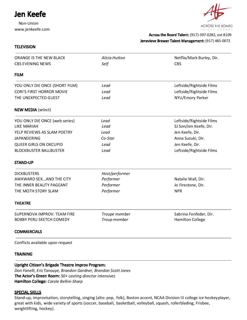 Acting resume revamped (2)-page-001